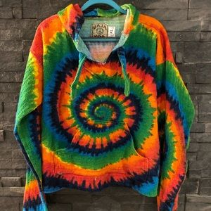 Baha Joe Tie-dyed Pullover
